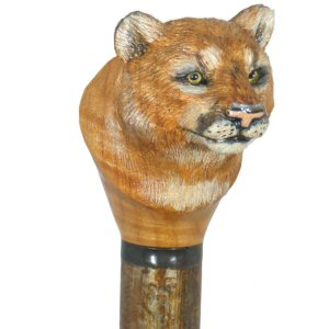 Hand Carved Wildlife Walking Stick Walking Cane And